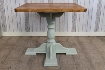 small pedestal base tables