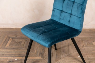 ocean teal dining chair