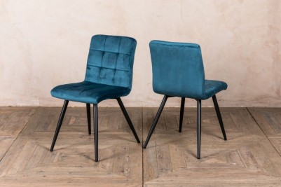 ocean teal dining chairs