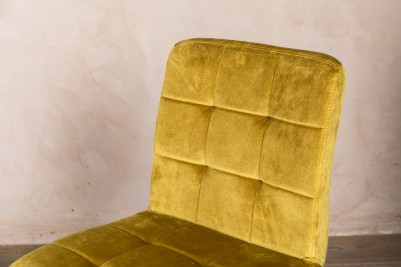velvet yellow chairs