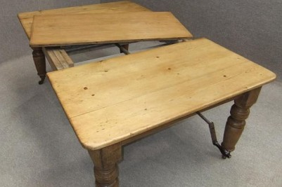 antique pine extending table