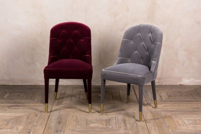 button back dining chairs