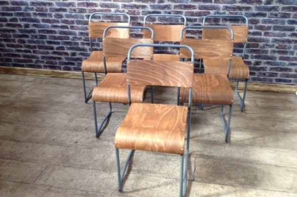 Plymouth Vintage School Chairs