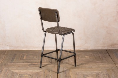 Princeton Leather Upholstered Bar Stools