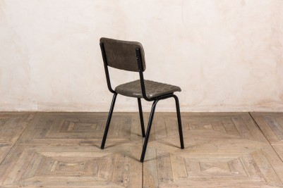 stackable leather dining chairs