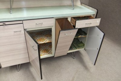 Vintage kitchen work station