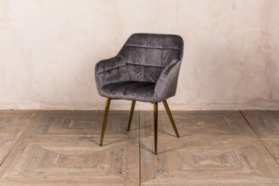 storm grey dining chair