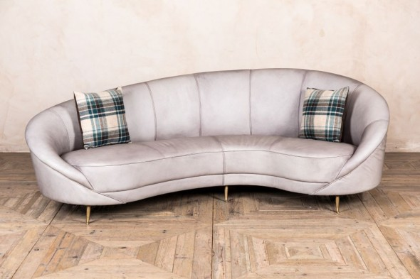 Roxy Real Leather Sofa