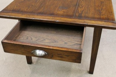 kitchen table with drawer
