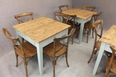rustic pine tables