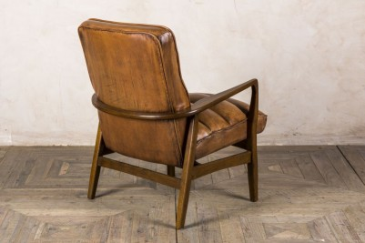 leather retro style chair