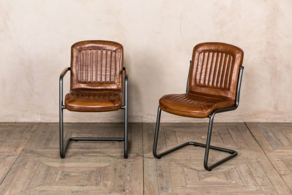 Sandown Leather Dining Chairs