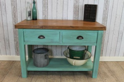 handmade sideboard with pine top