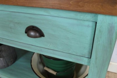 shabby chic pine sideboard