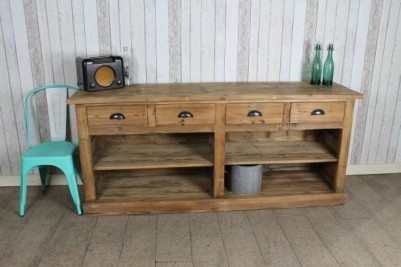 reclaimed pine sideboard