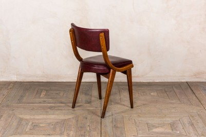 upholstered Ben chairs