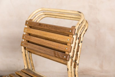 vintage stackable dining chairs
