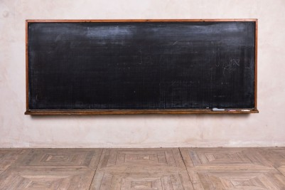 large school chalkboard