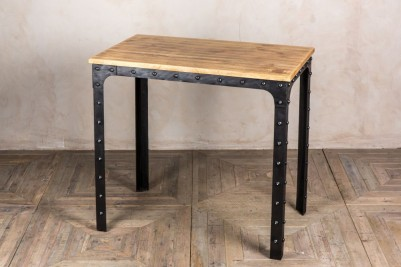 tall industrial bar tables