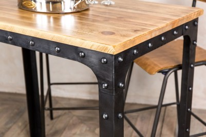 vintage metal bar tables