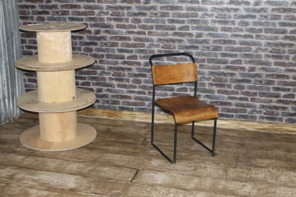 Hammersmith navy blue stacking chairs