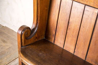long church pew