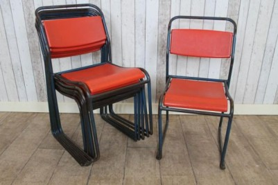 plastic seat stacking chairs