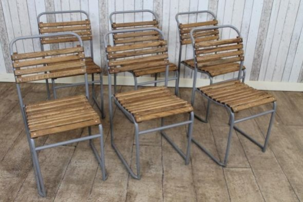 Duxford Old School Stacking Chairs