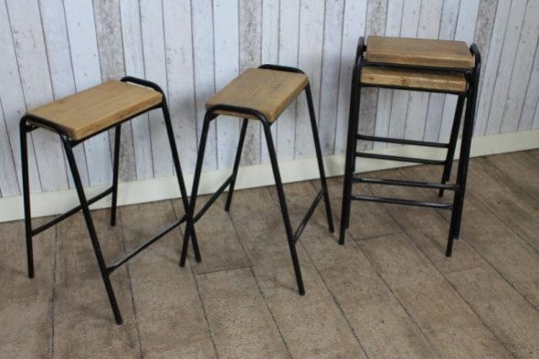 Tall stacking stools