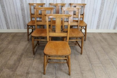 Edwardian church chairs