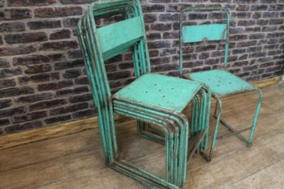 1950s stacking chairs
