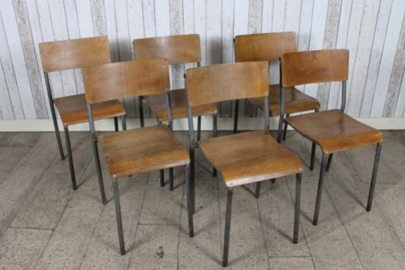 Vintage Stacker Chairs
