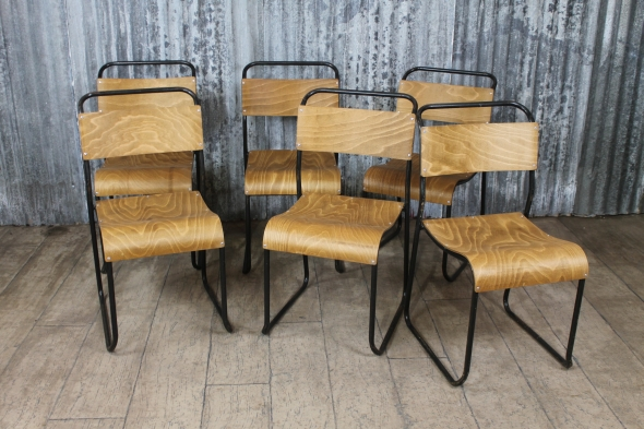 Brixham Vintage School Chairs