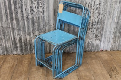 SC410 Blue metal stacking chairs3.jpg