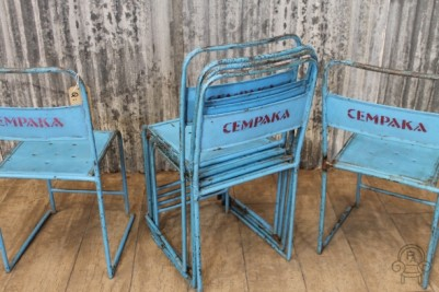 SC410 Blue metal stacking chairs5.jpg