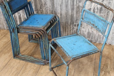 SC411 Blue distressed stacking chairs3.jpg