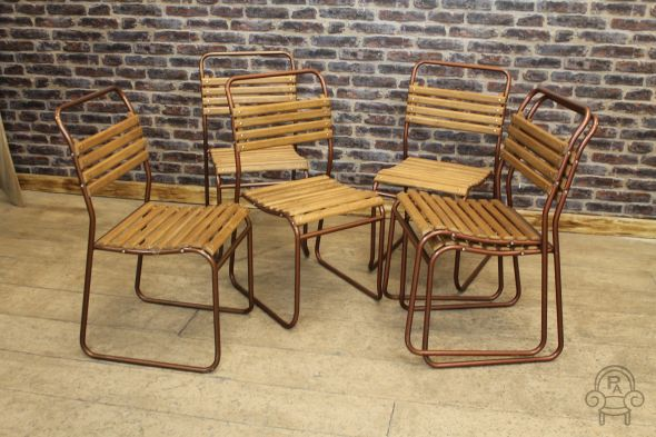 Stranraer Copper Original Stacking Chairs