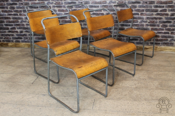 St Ives Vintage Stacking Chairs