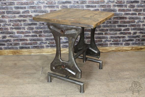 70x70cm Industrial Restaurant Table