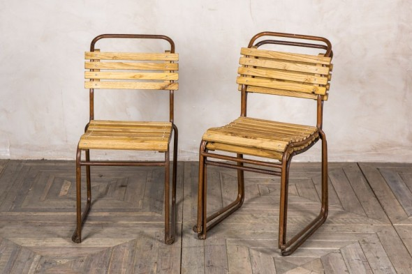 Retro Stackable Chairs