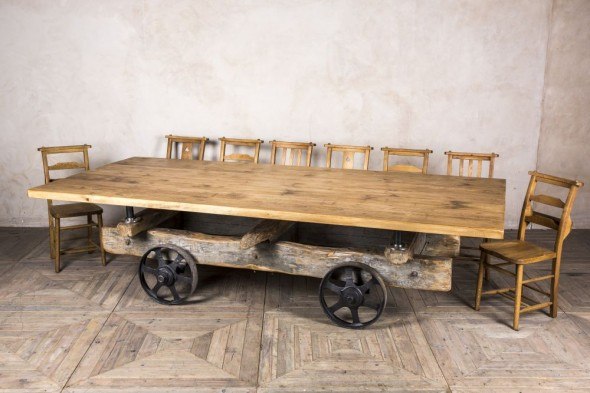Vintage Trolley Table