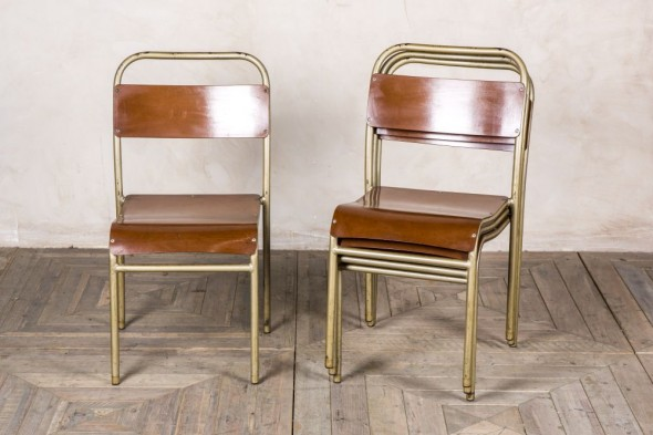 Gold Frame Chair
