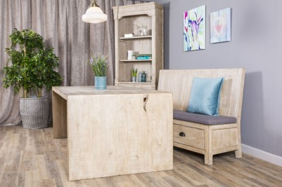storage bench and cushion
