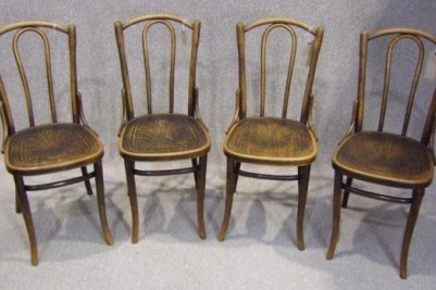 - VINTAGE CIRCA 1900 BENTWOOD CHAIRS
