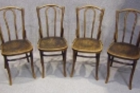 Vintage Circa 1900 Bentwood Chairs