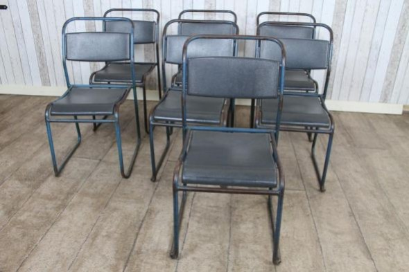 Set of 7 Stacking Chairs