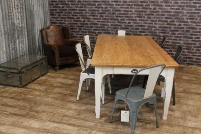 shabby chic painted rustic table