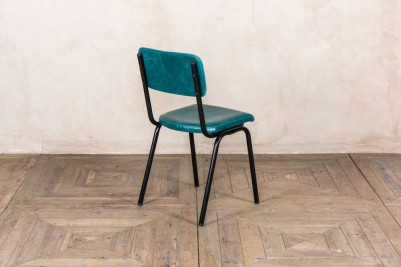 teal cafe chair