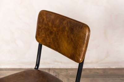 vintage brown dining chairs