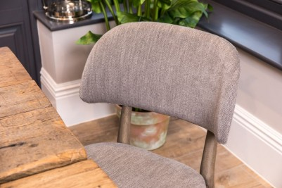 silver tweed smart chair